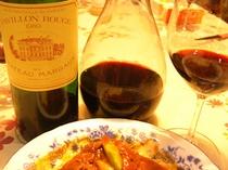 ある夜のワイン