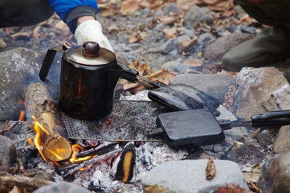 八ヶ岳の旬を味わう 「ほっこり☆陽だまり 焚き火カフェ」 プラン