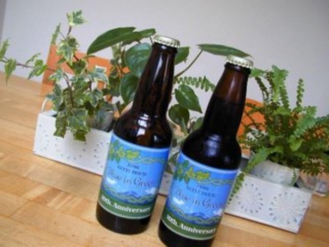 オリジナルラベルの地ビール