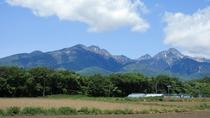 *6月の八ヶ岳連峰