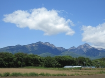 6月の八ヶ岳連峰