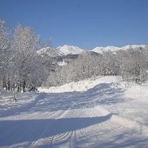 冬 白銀に包まれる乗鞍高原