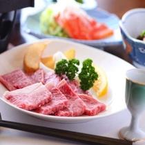 当館で一番人気の和牛鉄板焼は絶品