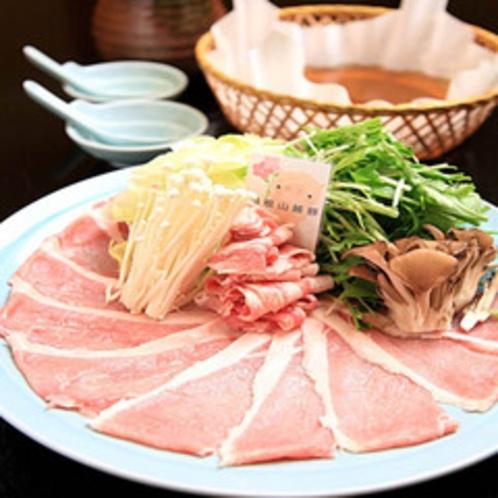 箱根山麓豚のしゃぶしゃぶ