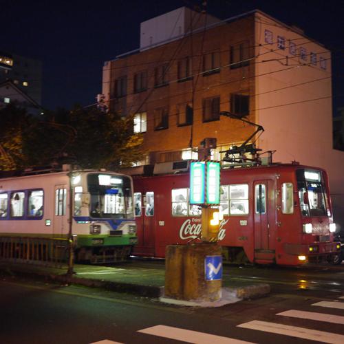 *福井市内を走る路面電車