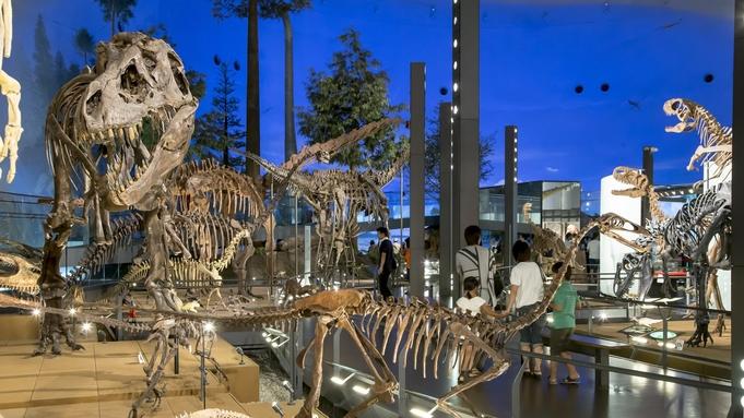 【福井県立恐竜博物館入場券付】ファミリーに人気♪恐竜の世界へGO