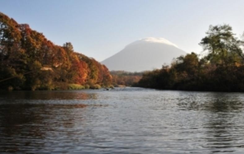 清流日本一の尻別川