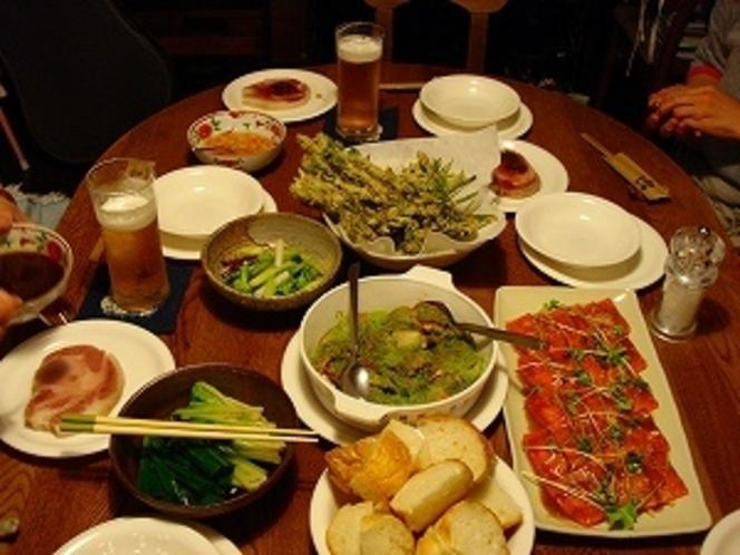 夕食例 和食