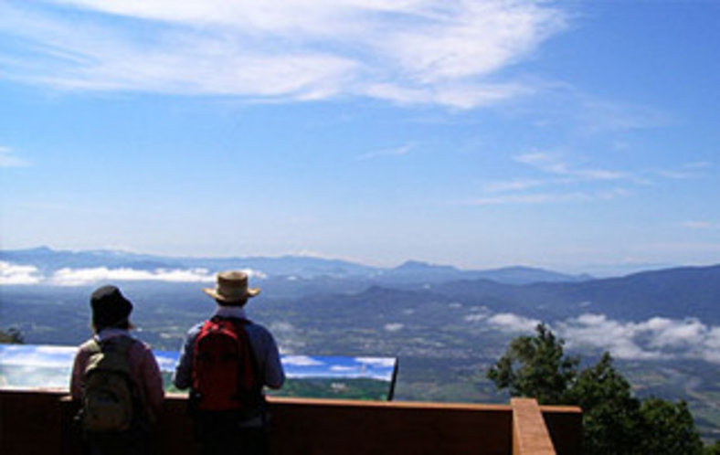 ニセコアンヌプリ1000メートル台地展望台