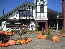町中にかぼちゃがぞろぞろ