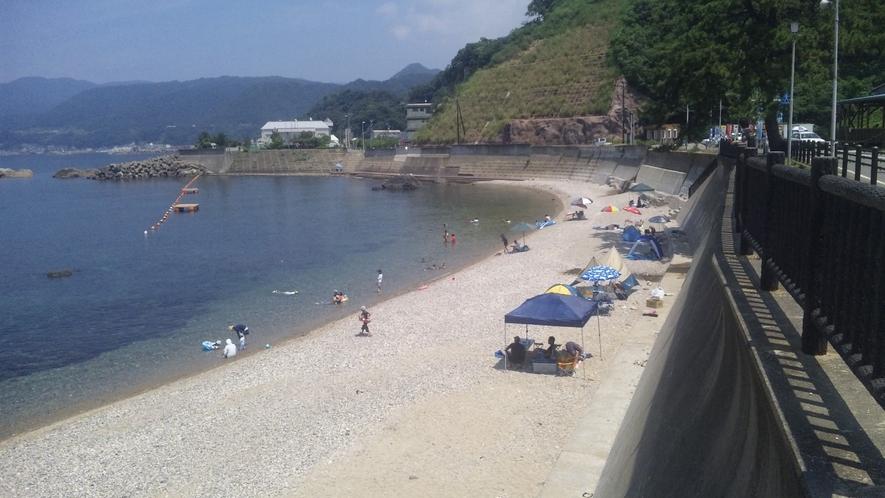 長須浜海水浴場 当館から徒歩5分