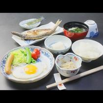 女将手作りの和朝食♪真心のこもった家庭の味です!