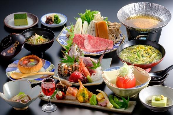 【量多め、質アップ】 夕食グレードアッププラン <三朝温泉街の文化財の宿>