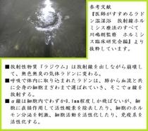自噴の様子(楽泉の湯)(2014/10)