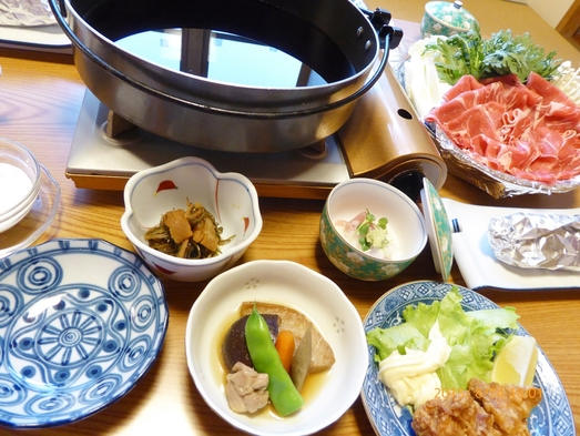 【おもてなし】飯山産コシヒカリ等のお土産付き味覚御膳宿泊プラン