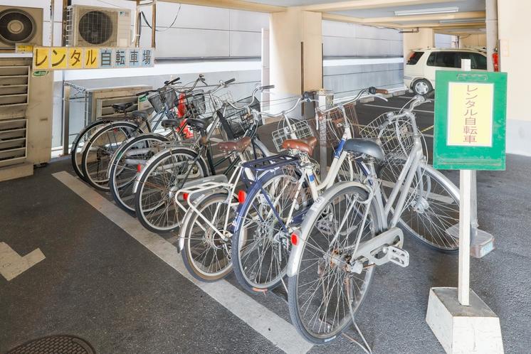 無料貸出し自転車