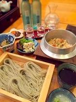 【宿泊プラン】へぎ蕎麦定食
