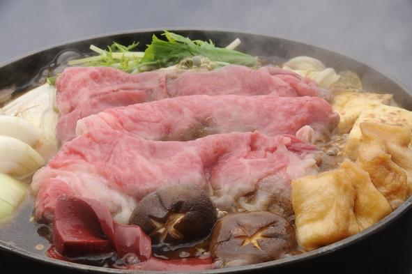 【9月〜:千屋牛すき焼き付】岡山県を代表する黒毛和牛×すき焼のコラボでとろけるご当地グルメを。