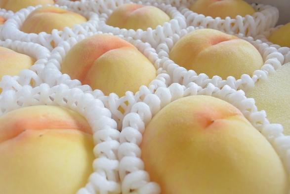 【果物王国岡山から!7/1〜8/31】甘ぁ〜い「桃」お土産付プラン。生産者おすすめの品種をお届け