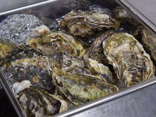 【12月〜2月:牡蠣のがんがん焼き付】岡山県産の殻付き牡蠣を蒸し焼きに!潮と酒香る豪快な漁師めし