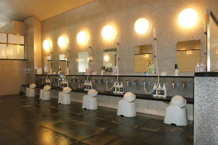 大浴場シャワー