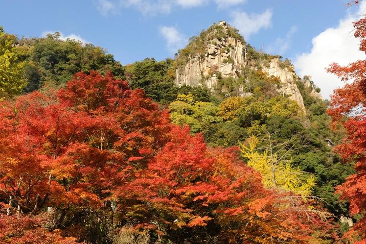 【秋】紅葉のスポット「豪渓」