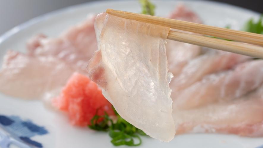 【一品料理】鯰のお造り