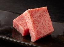 【A5飛騨牛リブロース50g】きめ細かいサシと奥深い甘味と風味