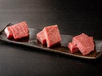 【A5飛騨牛食べ比べ】厳選した3種のA5飛騨牛(1名様分計150g)