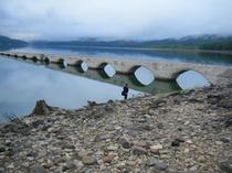 タウシュベツ川橋梁!