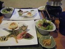 十勝食材とえりもの産直魚介★2食付プラン!