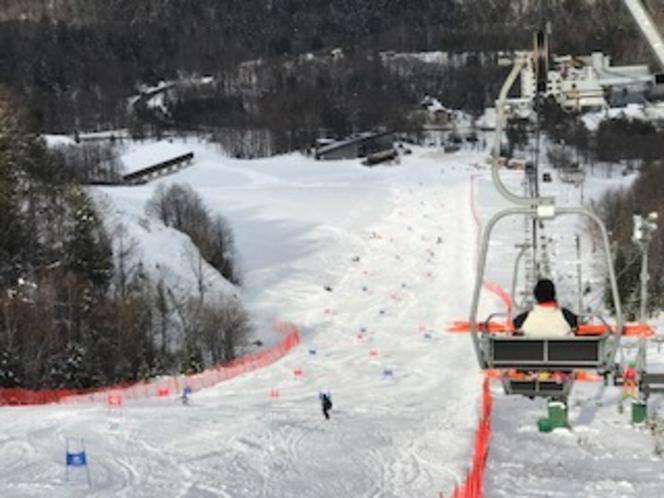 ぬかびら源泉郷スキー場。