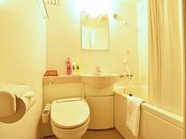 【新館客室】新館客室は全室バス・トイレ完備です。(※本館客室はバス・トイレ無し)