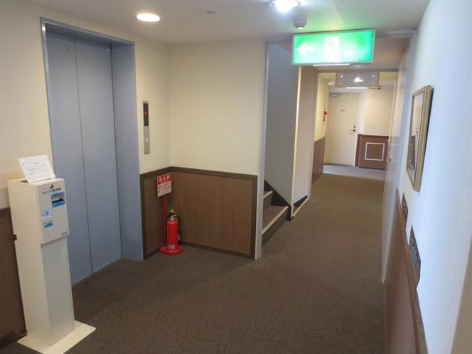 エレベーター 【1階~4階】