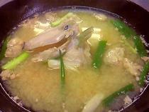 カワハギ味噌汁
