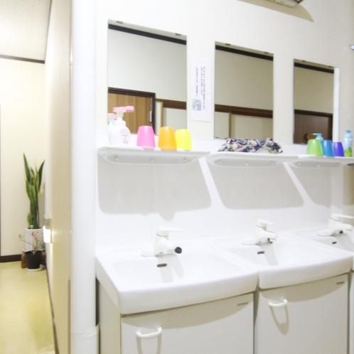 ☆共用の洗面スペース