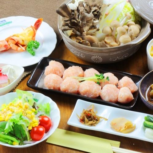 ☆舞茸と鳥団子の鍋