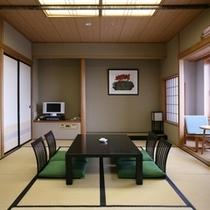和室スイート66㎡ご家族やご友人同士の旅行に最適!