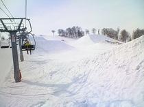 奥只見丸山スキー場 春