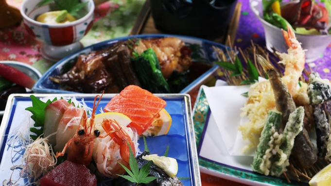 【公式HPリニューアル記念】選べるドリンク特典付!桜御膳−sakura−赤魚の煮付けと旬野菜の和食膳
