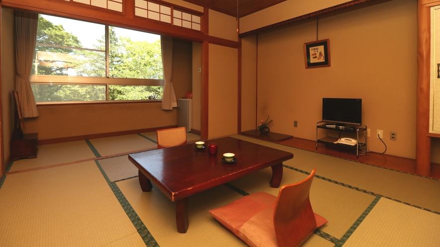 ■【客室一例・新館8畳】広縁とバストイレ付で快適にお過ごしいただけるお部屋です。