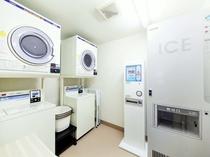 7階 コインランドリー・製氷機