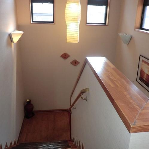 館内北側階段