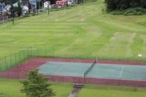 パターゴルフ・パークゴルフ・テニスコート全景