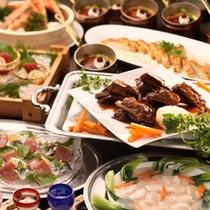 和洋中卓盛料理(9品)
