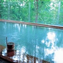 森の天空露天風呂(夏)②
