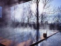 ※森の天空露天風呂(春)