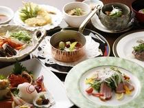 ※【夕食】和洋会席料理コース仕立て