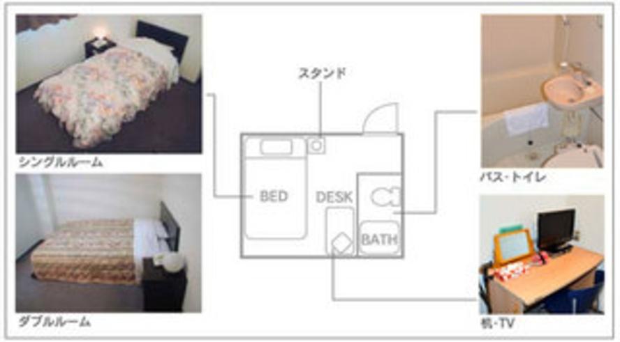客室間取り例