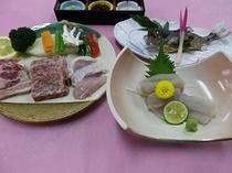肉&川魚競演プラン
